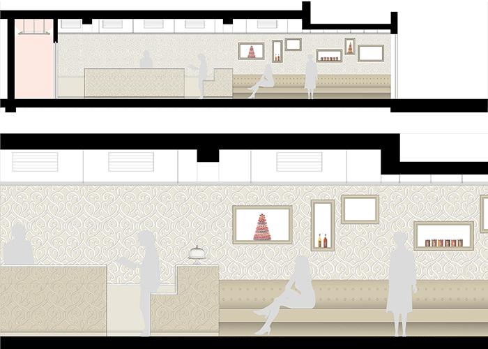 agence ana s gauthier p tisserie haut de gamme architecte d int rieur designer paris. Black Bedroom Furniture Sets. Home Design Ideas
